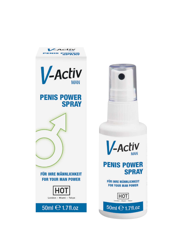 V-Activ Penis Power Spray-50ml